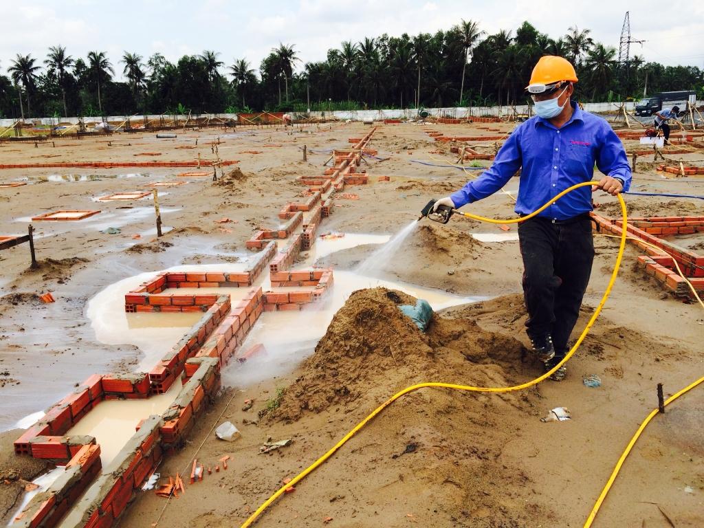 Việc phòng chống mối rất cần thiết cho công trình xây dựng.